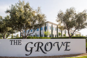 An office building at The Grove, managed by PacificWest.